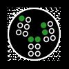 Symbol für Brailleschrift