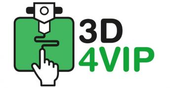 EU-Projektlogo 3D4VIP