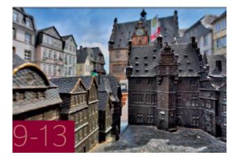 Tastmodell des Marktplatzes in Marburg