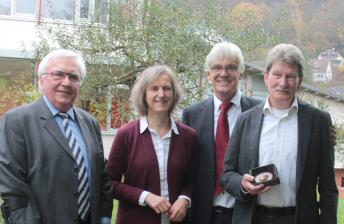 v.l.n.r. Bernd Höhmann, Ursula Weber, Claus Duncker, Matthias Weström