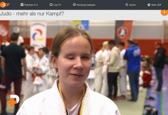 HInweis auf ZDF ivi, PUR+: Judo - mehr als nur Kampf