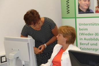 Europaministerin Puttrich zu Besuch bei der blista-Projektlinie Inklusion&Innovation
