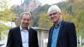 Claus Duncker und Patrick Temmesfeld