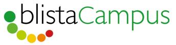 Das Logo vom blistaCampus deutet zugleich den Begriff Inklusion an