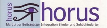 Logo der Fachzeitschrift horus
