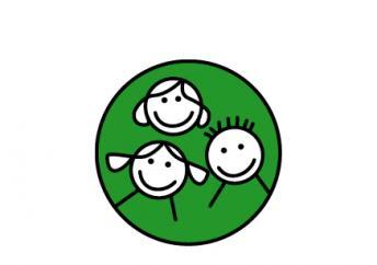 drei Smileys symbolisieren Schüler*innen der blista