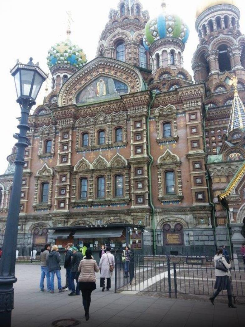 Blutskirche, St. Petersburg