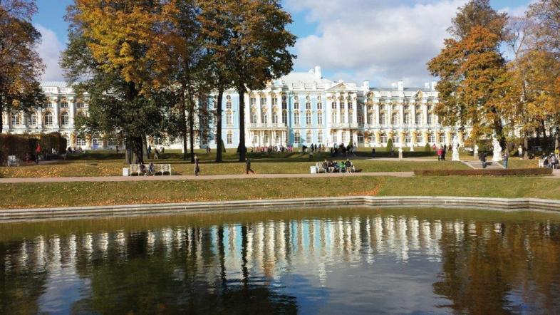 Schloß in St. Petersburg – die Pracht der Zarenzeit