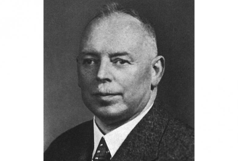Ein Foto aus dem Jahr 1938 zeigt Carl Strehl