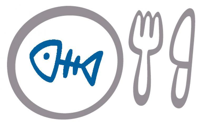 Symbolisches Fischgericht