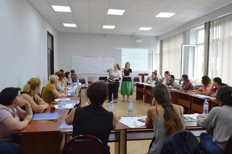 Teilnehmer der Frühförder-Fortbildung