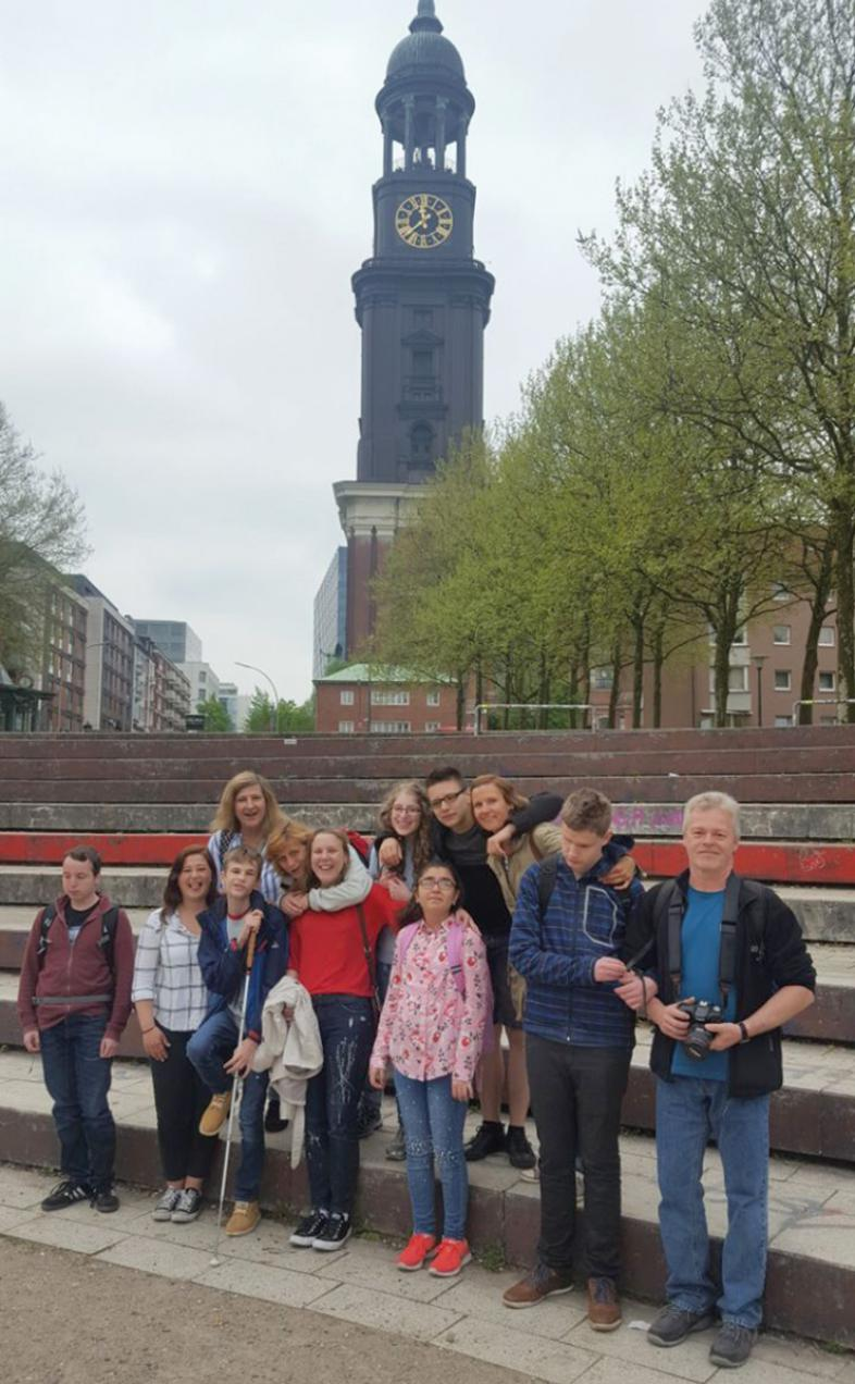 Gruppenfoto in Hamburg