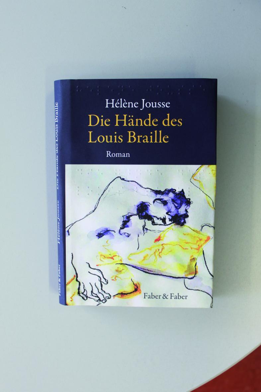 Buchcover von Helene Jousse, Die Hände des Louis Braille