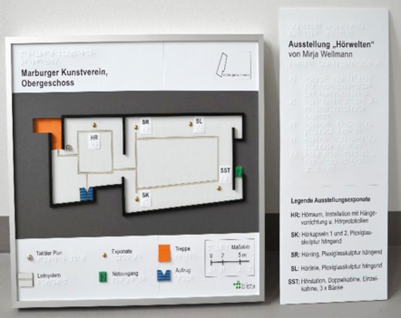 Grundrissplan Kunstverein mit gesonderter Legende