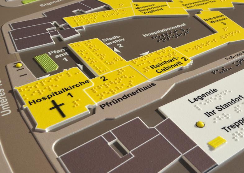 Detail Hofer Stadtkarte