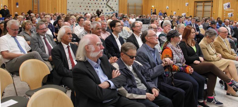 Blick auf die zahlreichen Gäste der Veranstaltung