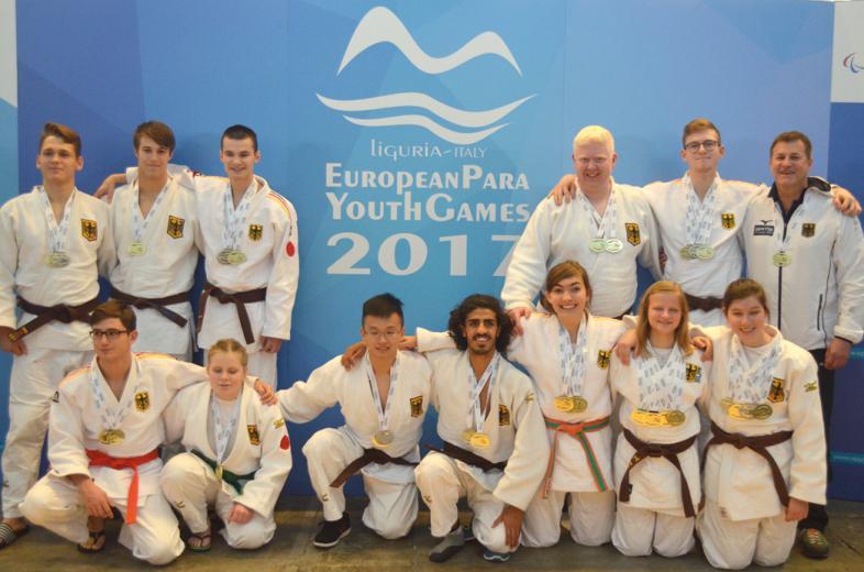 Das Team der blista-Judoka