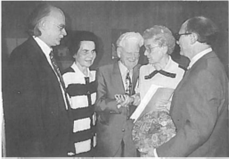 v. l.: Direktor Hertlein, Frau Sommerlad, Dr. Schulze, Frau Dr. Liebe, Dr. Hauck