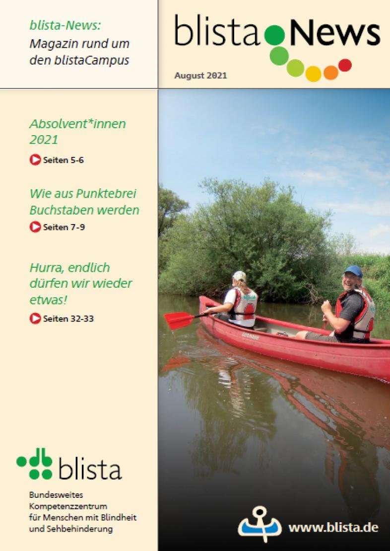 Das Cover zeigt zwei Paddler auf der Lahn