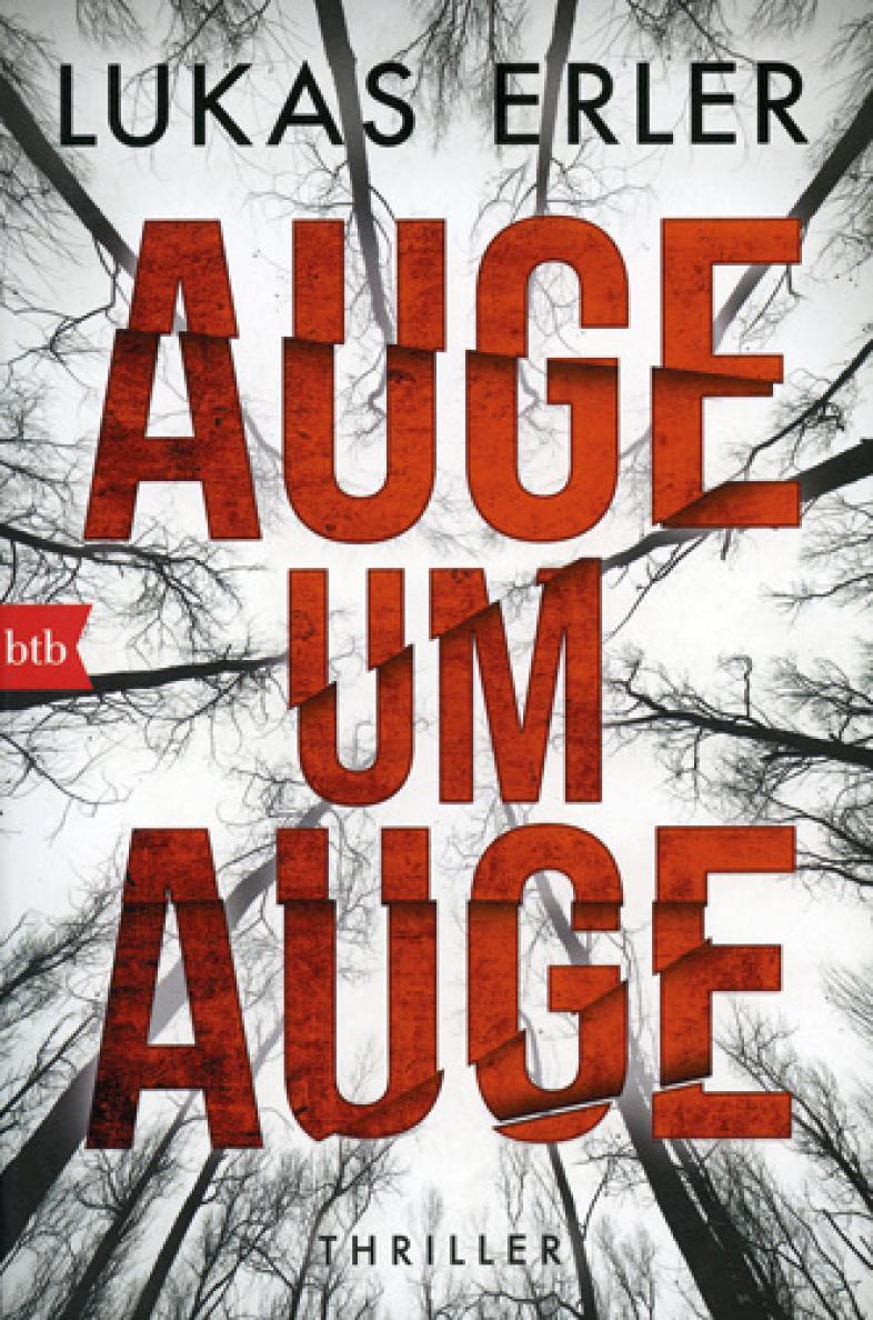 Der Buchumschlag zeigt den Titel in großen roten Lettern