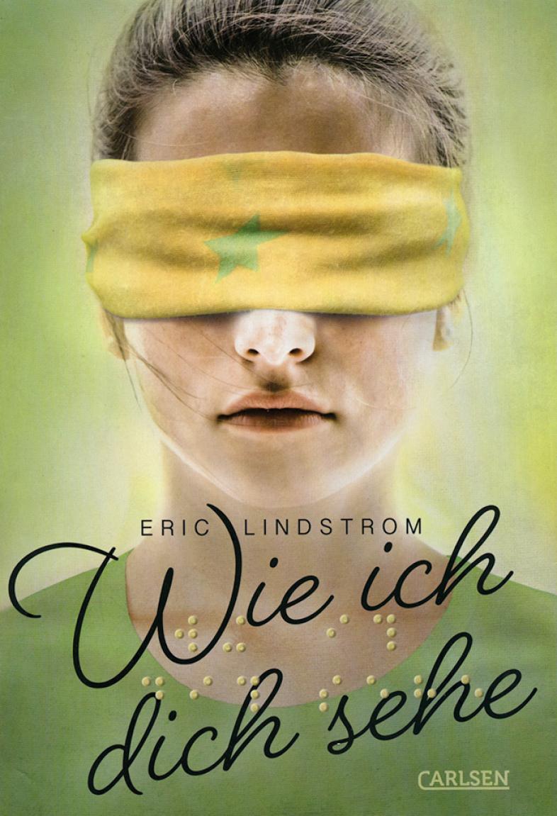 Das Cover zeigt eine Frau mit verbundenen Augen