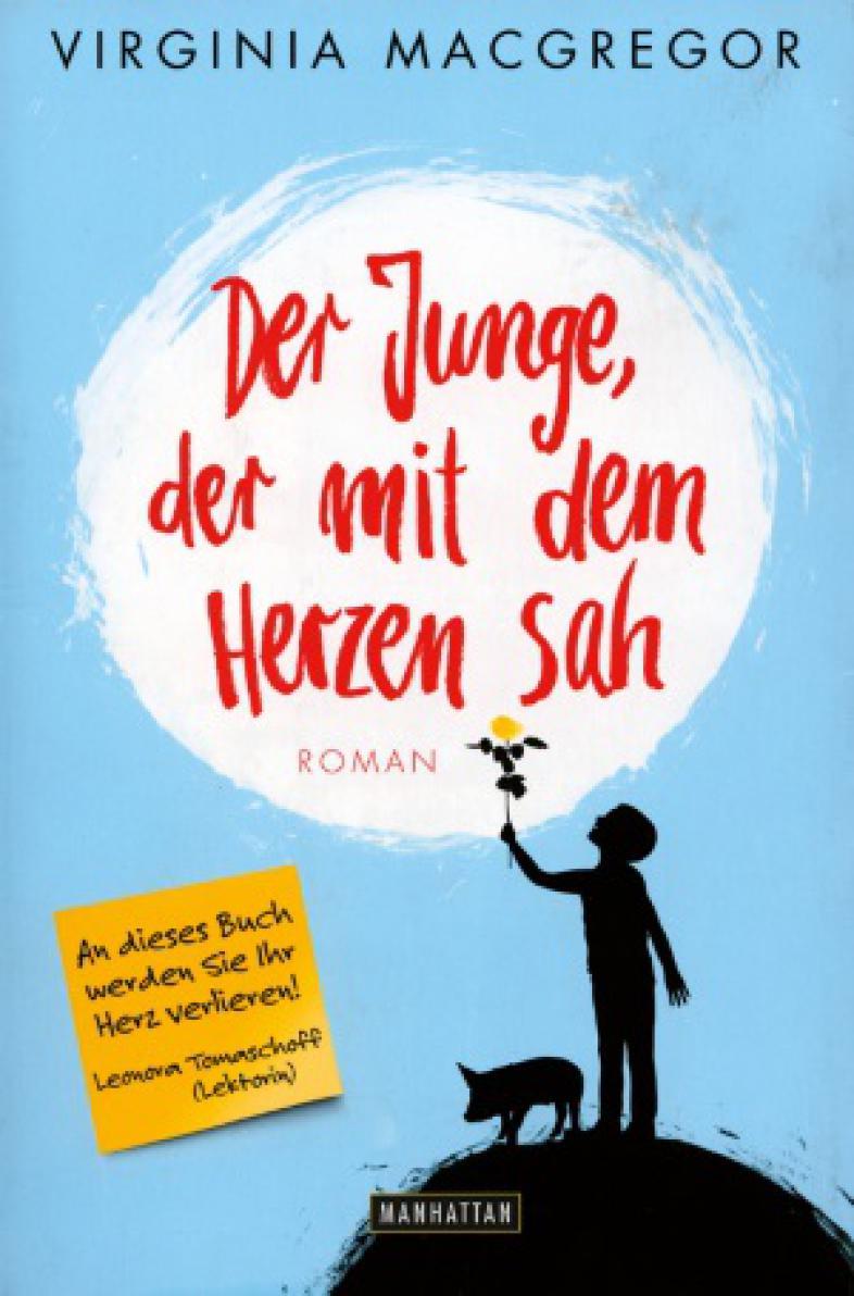 """Buchcover """"Der Junge, der mit dem Herzen sah"""""""