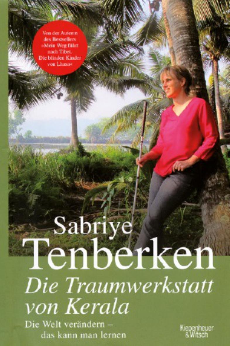 """Buchcover """"Die Traumwerkstatt von Kerala"""""""