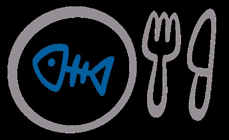 Teller mit Messer und Gabel