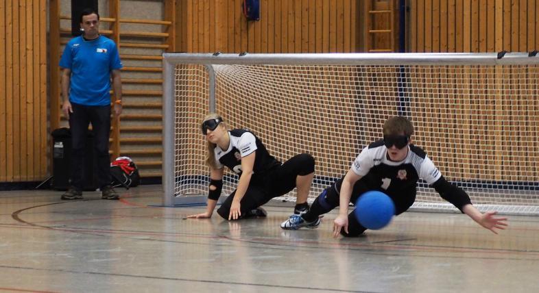 Goalballszene