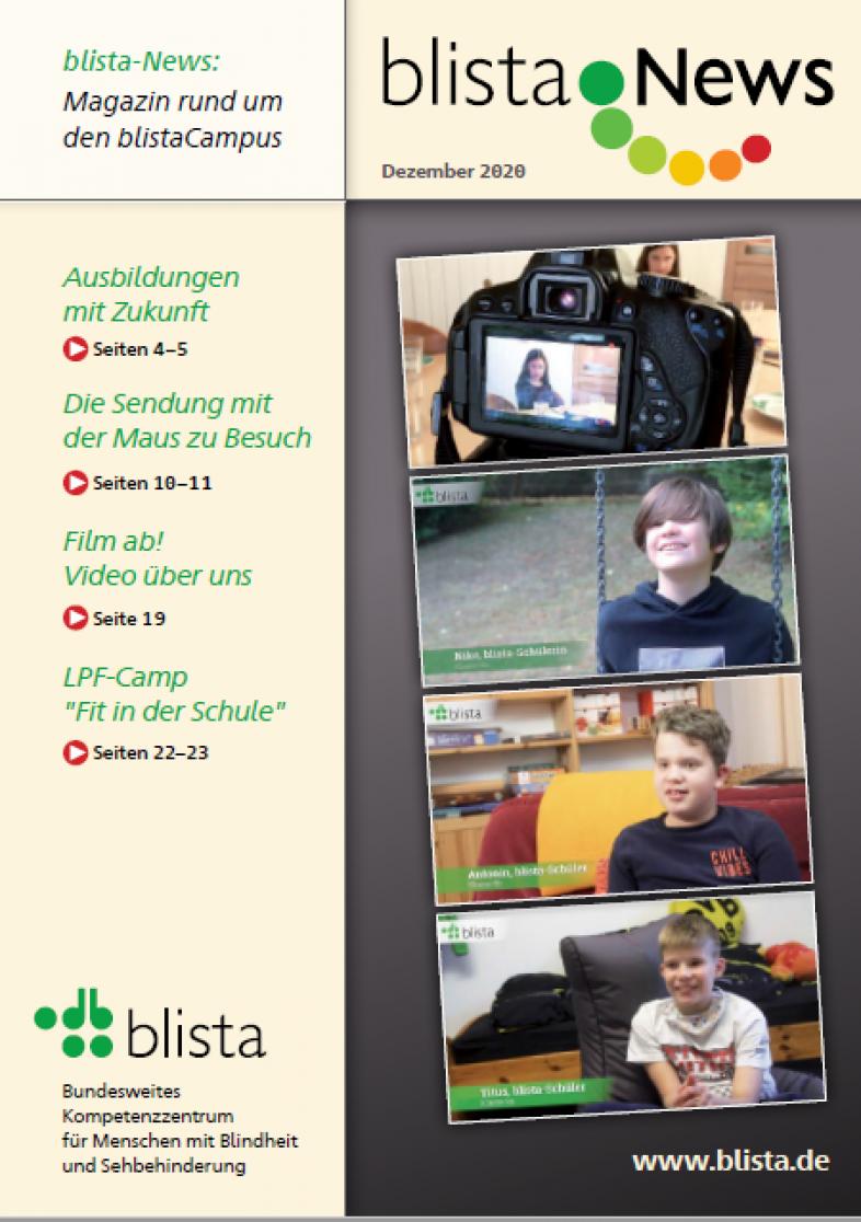 Das Titelblatt zeigt Szenen aus dem Video, s.S. 19