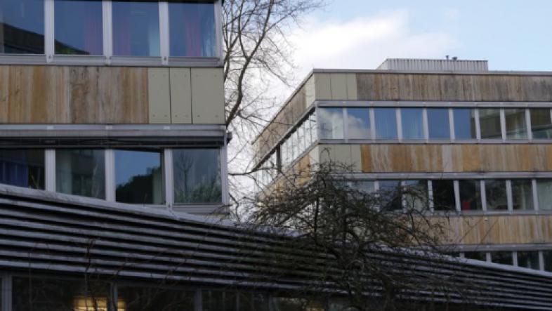 Gebäude der Uni Marburg