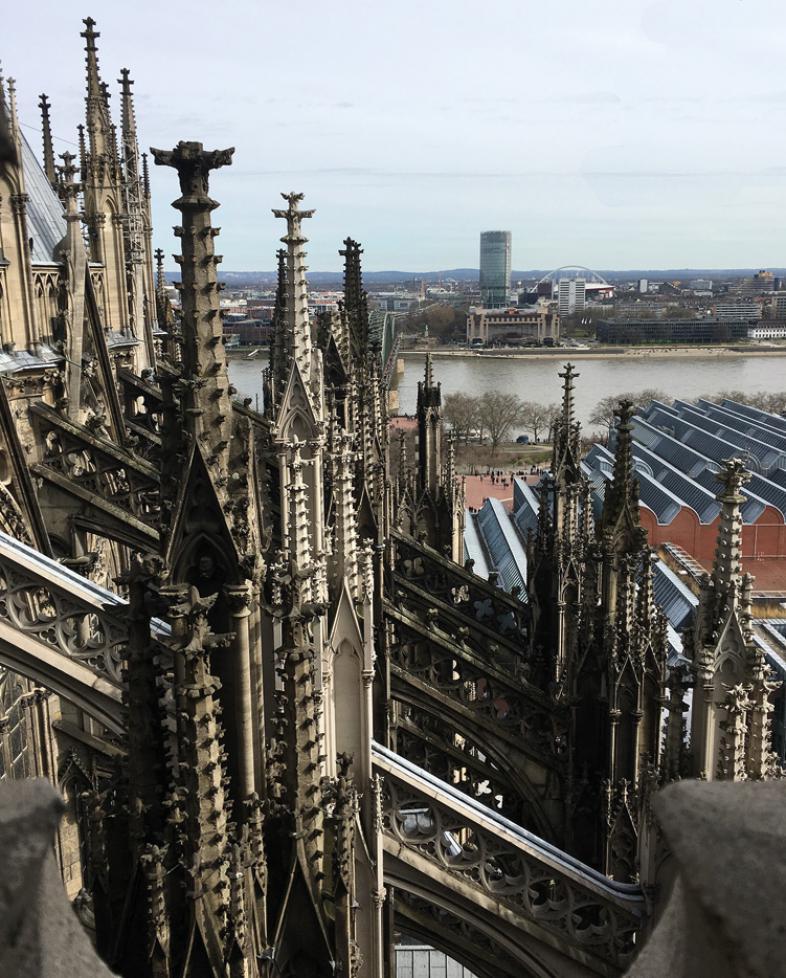 Das Foto zeigt den Kölner Dom