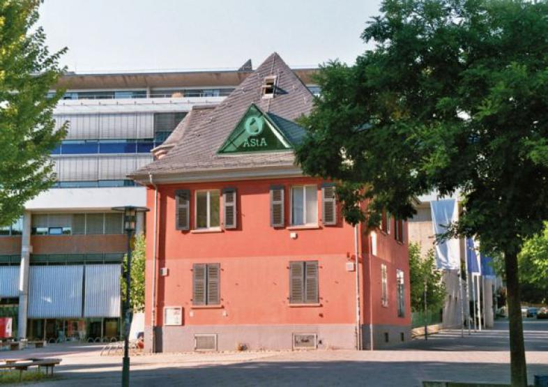 Gebäude des ASTA der FH Frankfurt