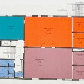Plan vom 1. Obergeschoss