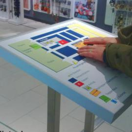 Die blista stellt taktile Pläne her - hier ein Modell eines Marburger Kaufhauses