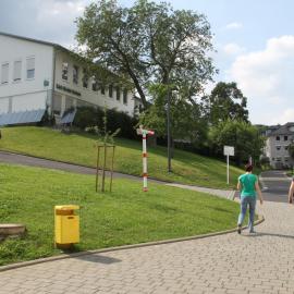 Blick auf die Carl-Strehl-Schule der blista