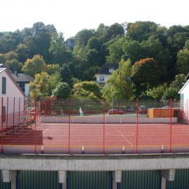 Das Sportfeld auf dem blista-Campus