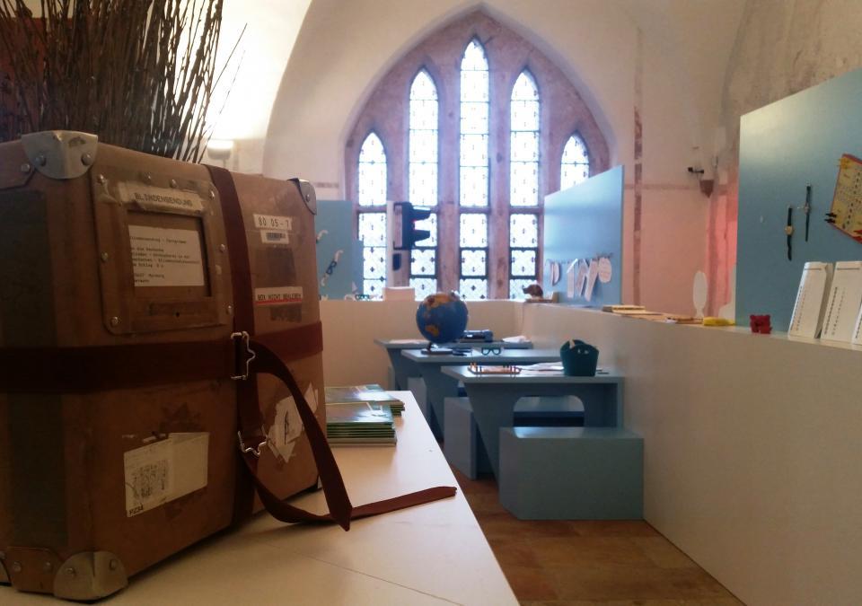 Bild 4 von 12: Ein Blick in den inneren Ausstellungsbereich von blick:punkte
