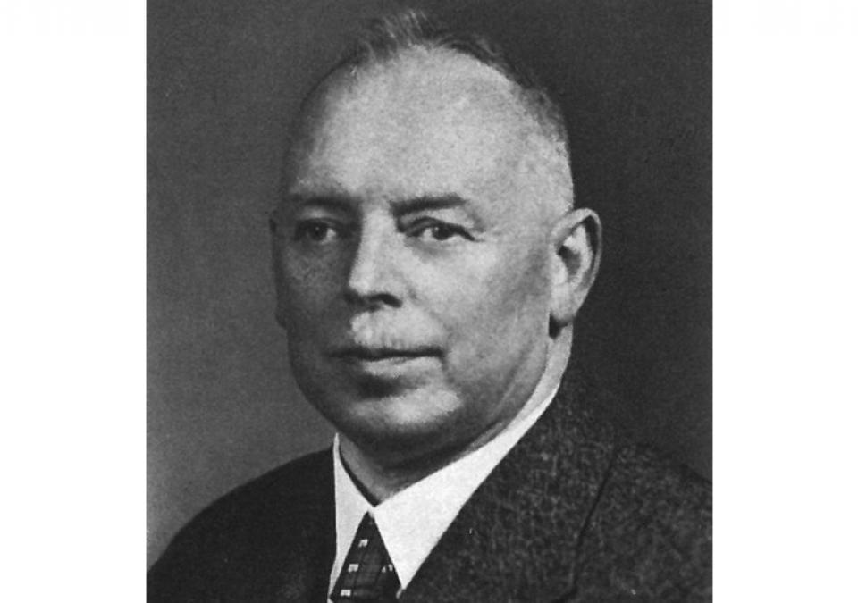 Bild 2 von 8: Ein Foto aus dem Jahr 1938 zeigt Carl Strehl