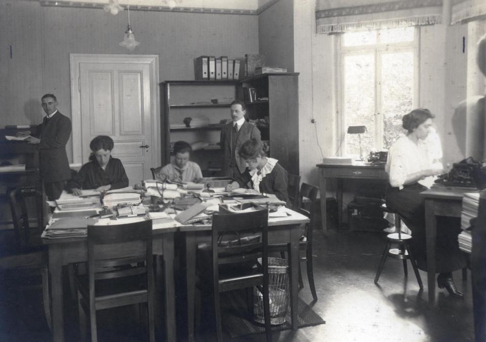 Bild 4 von 8: Das Foto zeigt die Geschäftsstelle in der Wörthstraße