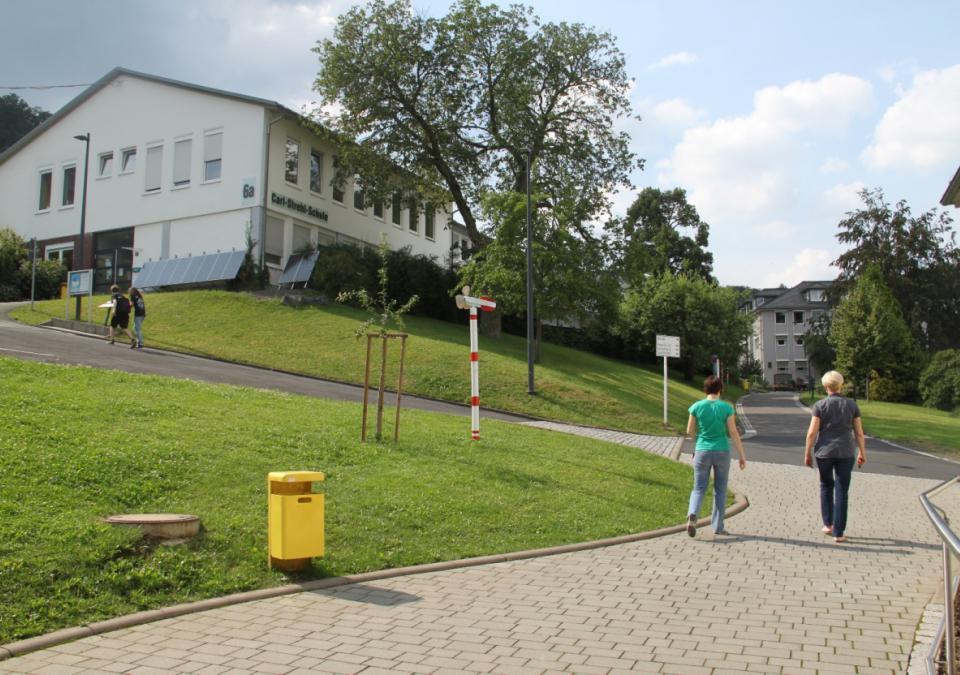 Bild 11 von 12: Blick auf die Carl-Strehl-Schule der blista