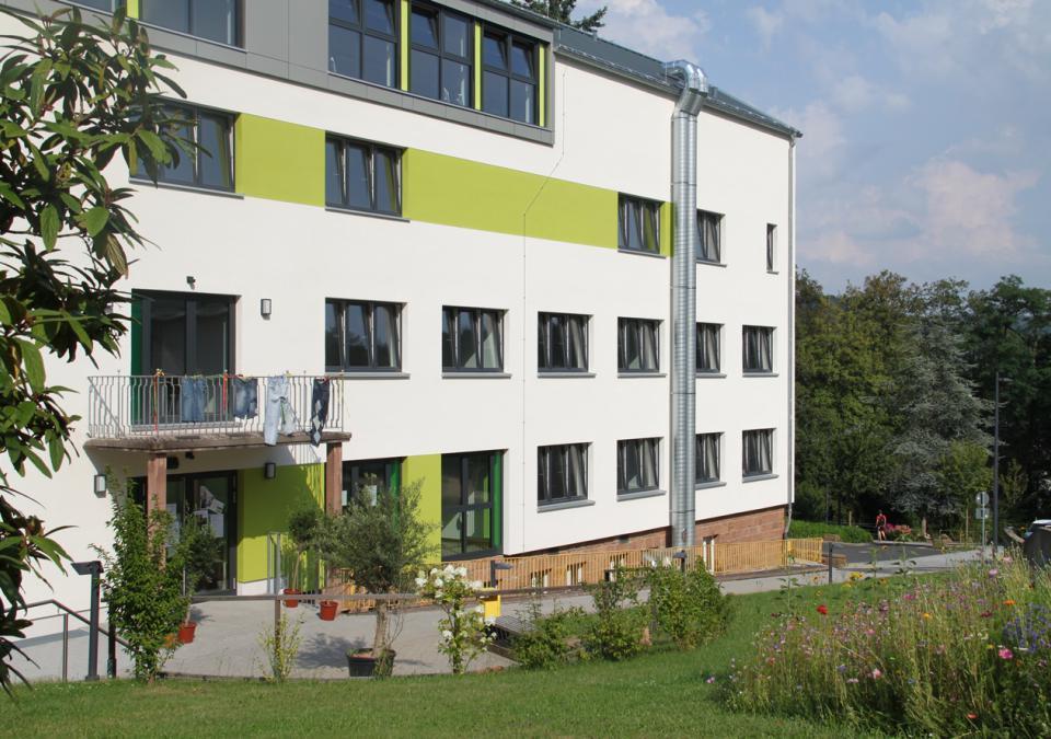 Bild 2 von 12: Die Cafeteria der blista und die Montessori Schule