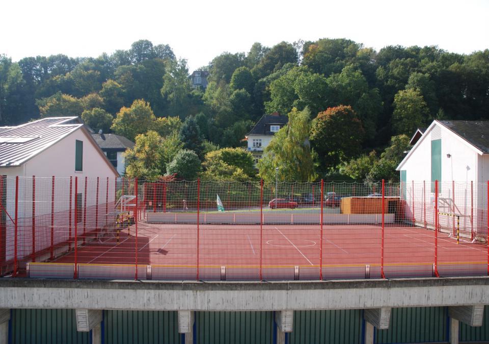 Bild 4 von 12: Das Sportfeld auf dem blista-Campus