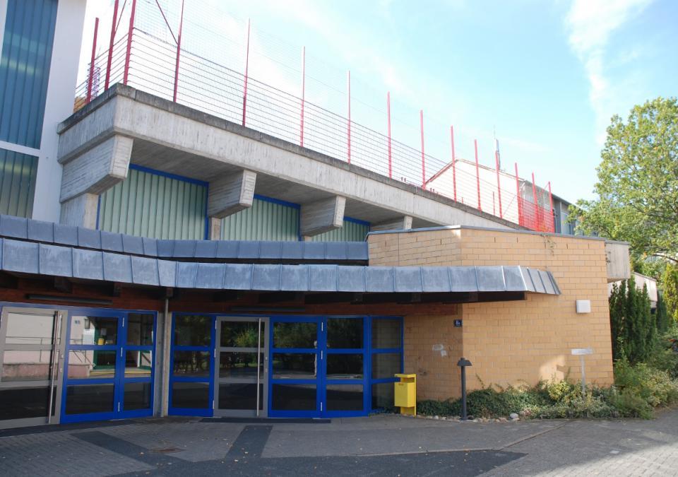 Bild 6 von 12: Blick auf die Sporthalle der blista