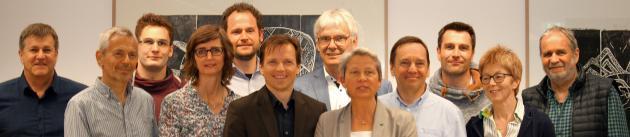 Die 12 Teilnehmenden aus dem Hessischen Kultusministerium, dem Hessischen Behinderten- und Rehabilitations-Sportverband und der blista