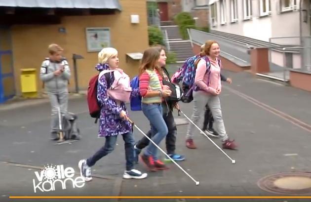 Szene aus dem Bericht des ZDFs
