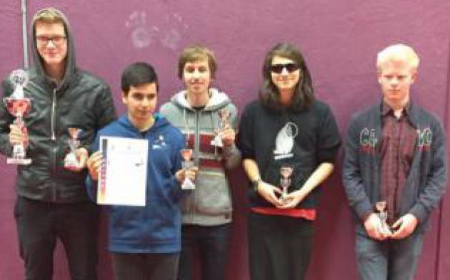 Das Team der Schach-AG